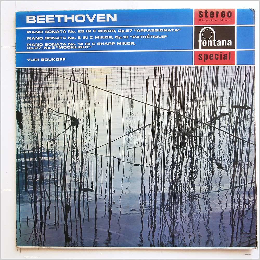 Yuri Boukoff - Beethoven: Piano Sonata No.23 Appassinonata, Piano Sonata No.8 Pathetique, Piano Sonata No.14 Moonlight (SFL14082)