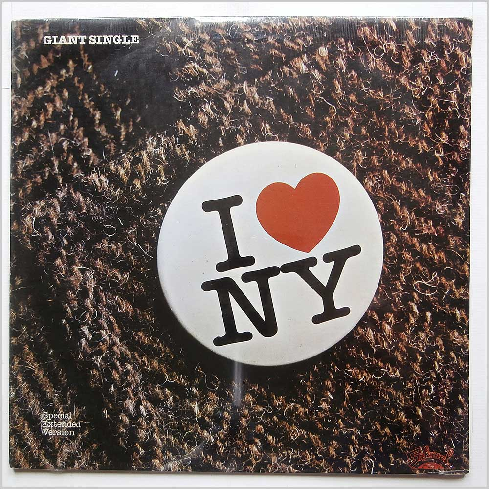 METROPOLIS - I Love New York - 12 inch 45 rpm