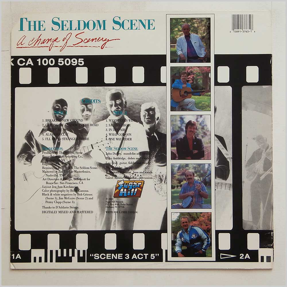The Seldom Scene - A Change Of Scenery (SH-3763)