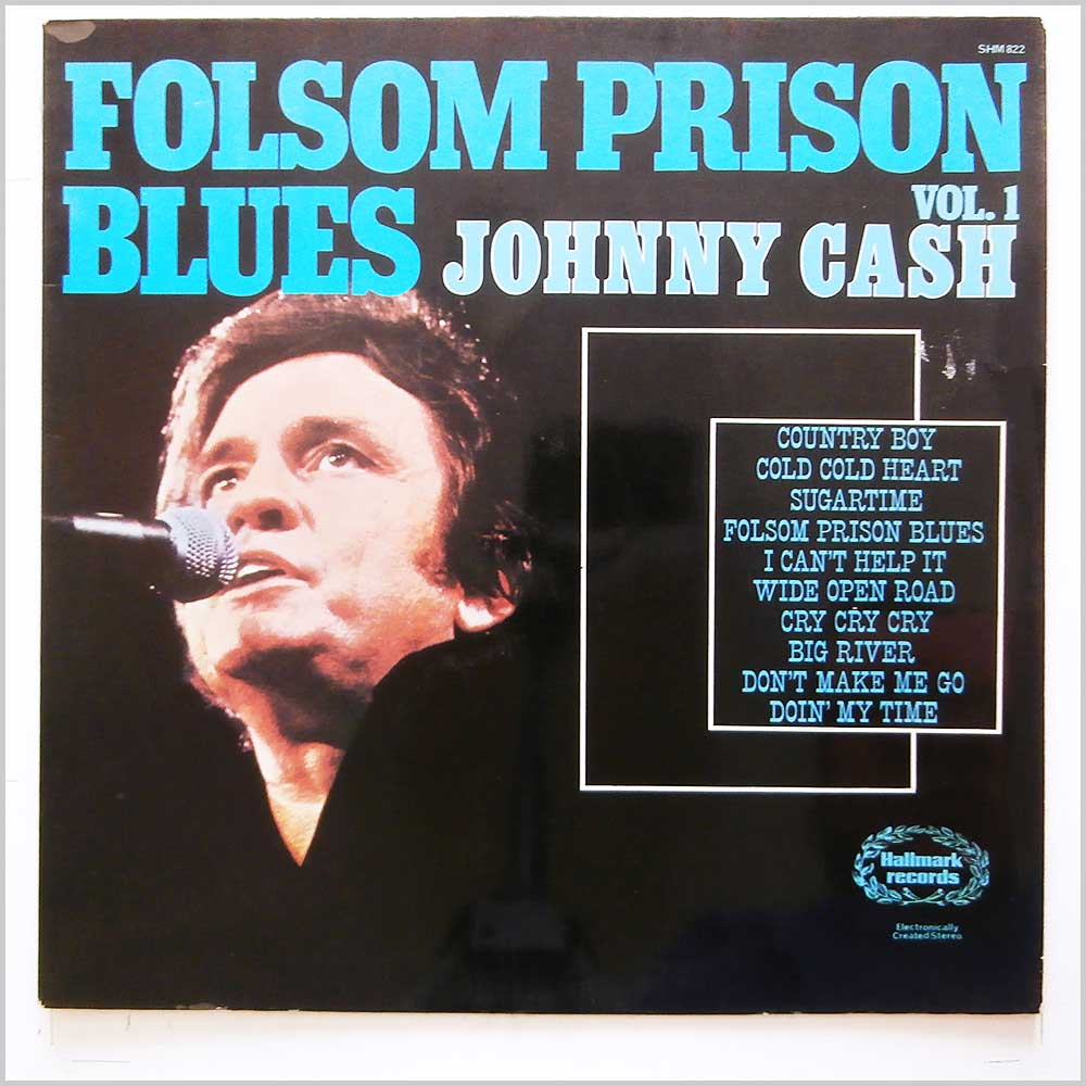 Johnny Cash - Folsom Prison Blues Johnny Cash Vol. 1 (SHM 822)