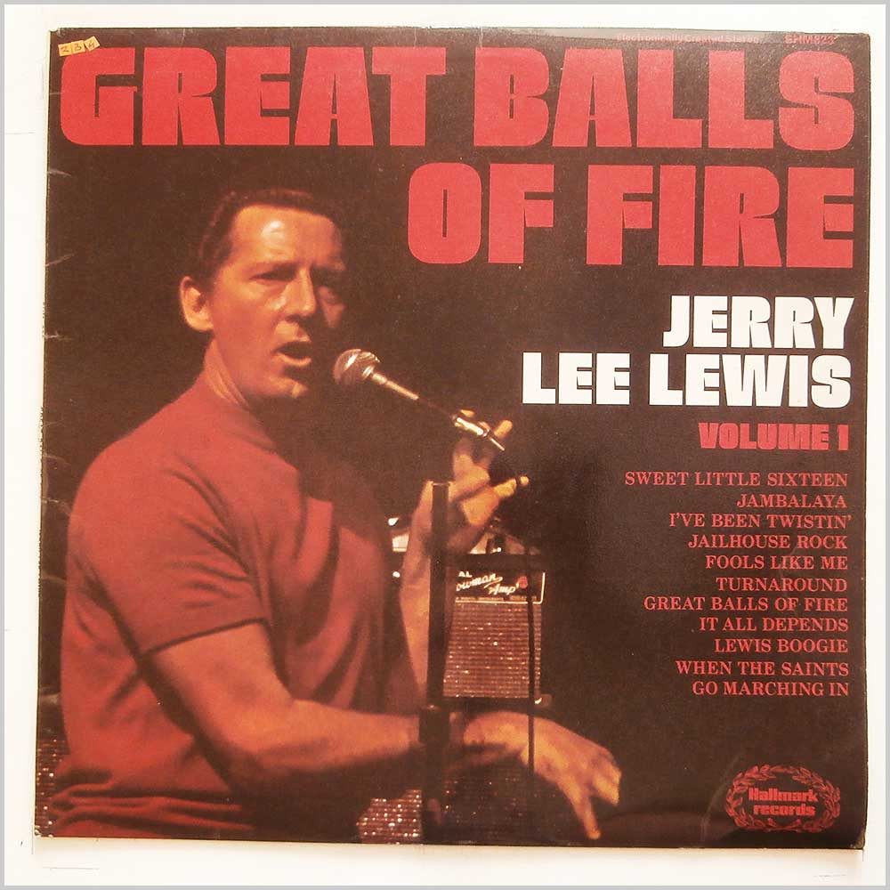 Jerry Lee Lewis - Great Balls Of Fire (SHM 823)