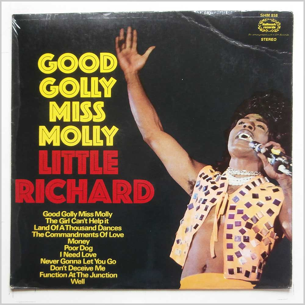 Little Richard - Good Golly Miss Molly (SHM 858)