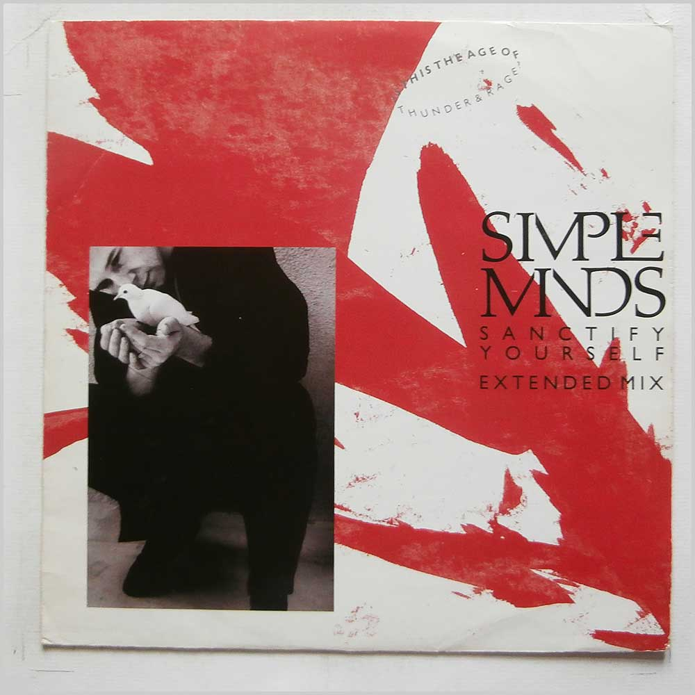 Simple Minds - Sanctify Yourself (Extended Mix) (SM 1-12)