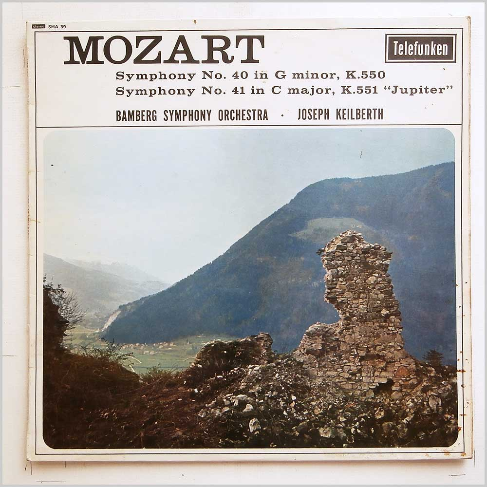 Joesph Keilberth, The Bamberg Symphony Orchestra - Mozart: Symphony No. 40 in G Minor, Symphony No. 41 in C Major Jupiter (SMA 39)