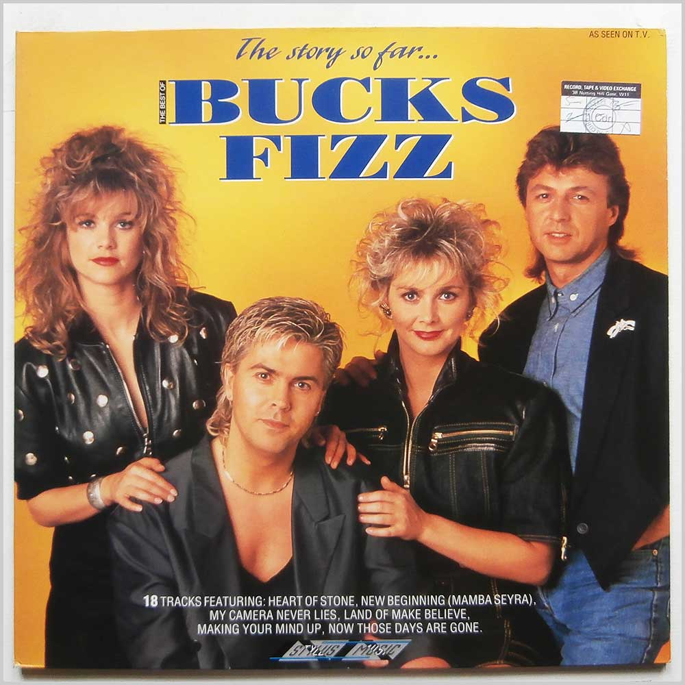 Bucks Fizz - The Story So Far: The Best Of Bucks Fizz (SMR 870)