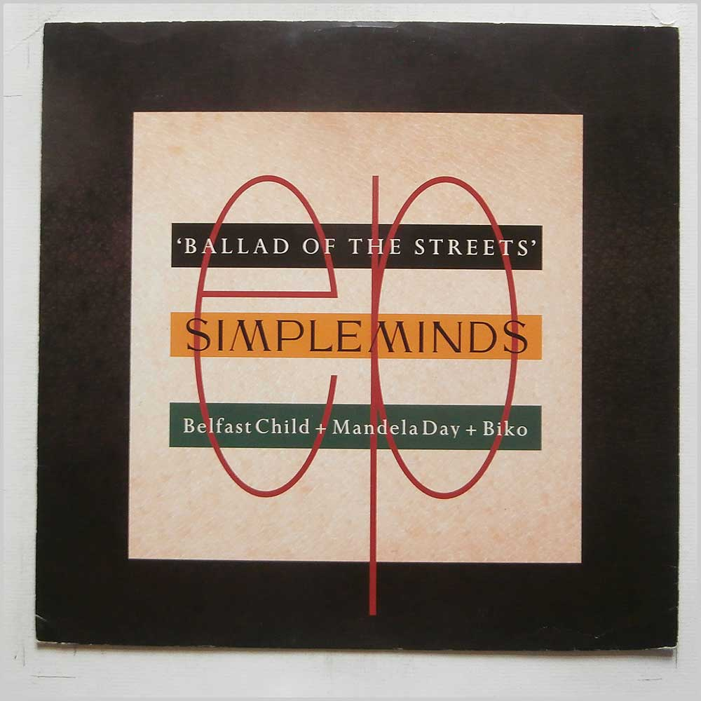 Simple Minds - Ballad Of The Streets (SMXT 3)