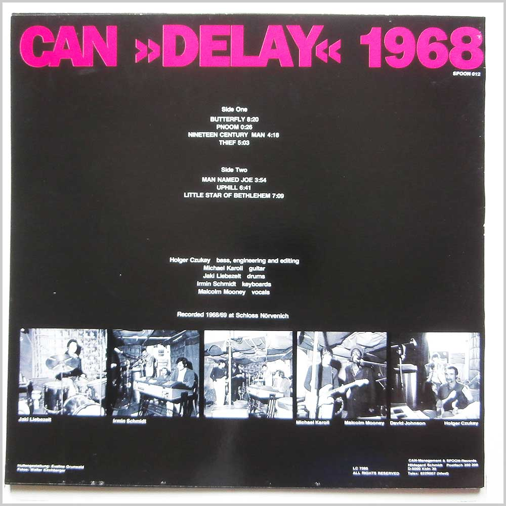Can - Delay 1968 (SPOON 012)