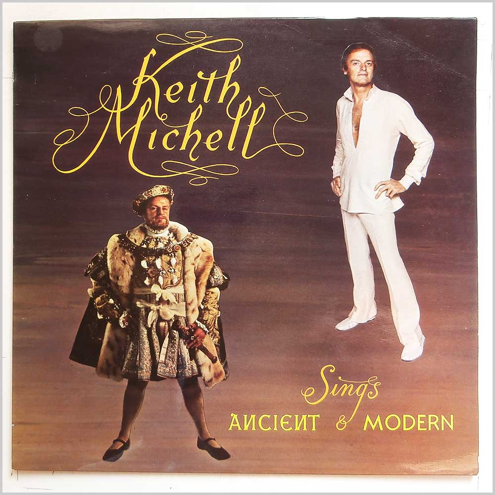 Keith Michell - Keith Michell Sings Ancient and Modern (SRLP 106)