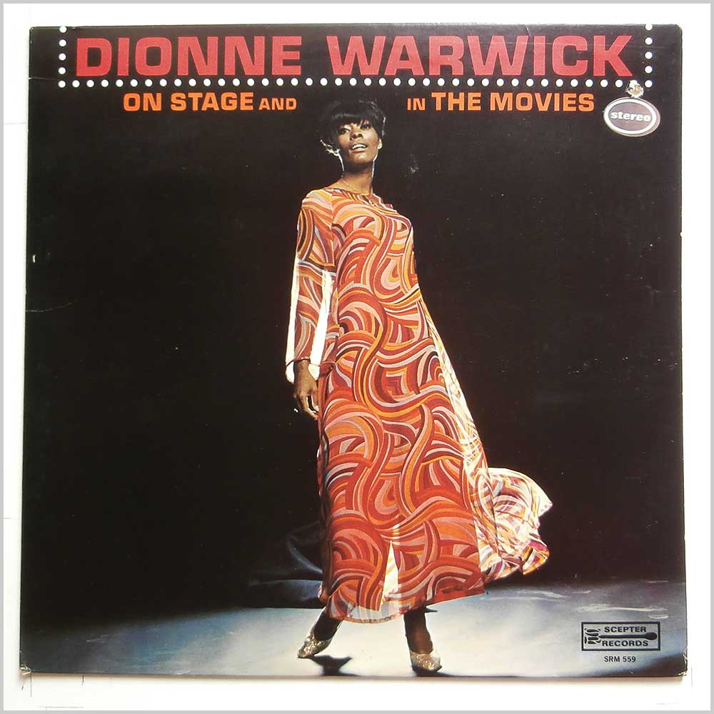 Dionne Warwick - Dionne Warwick On Stage And In The Movies (SRM 559)