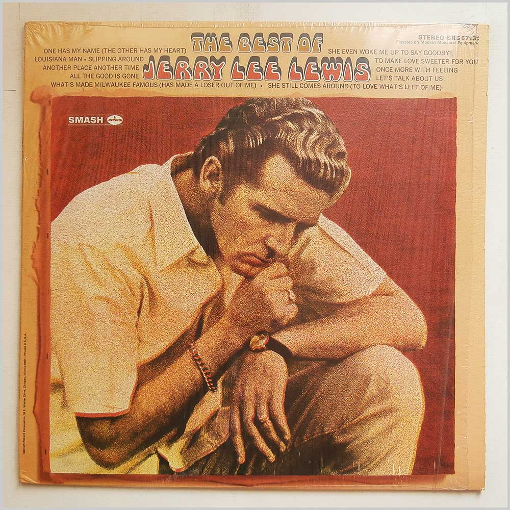 Jerry Lee Lewis - The Best Of Jerry Lee Lewis (SRS 67131)