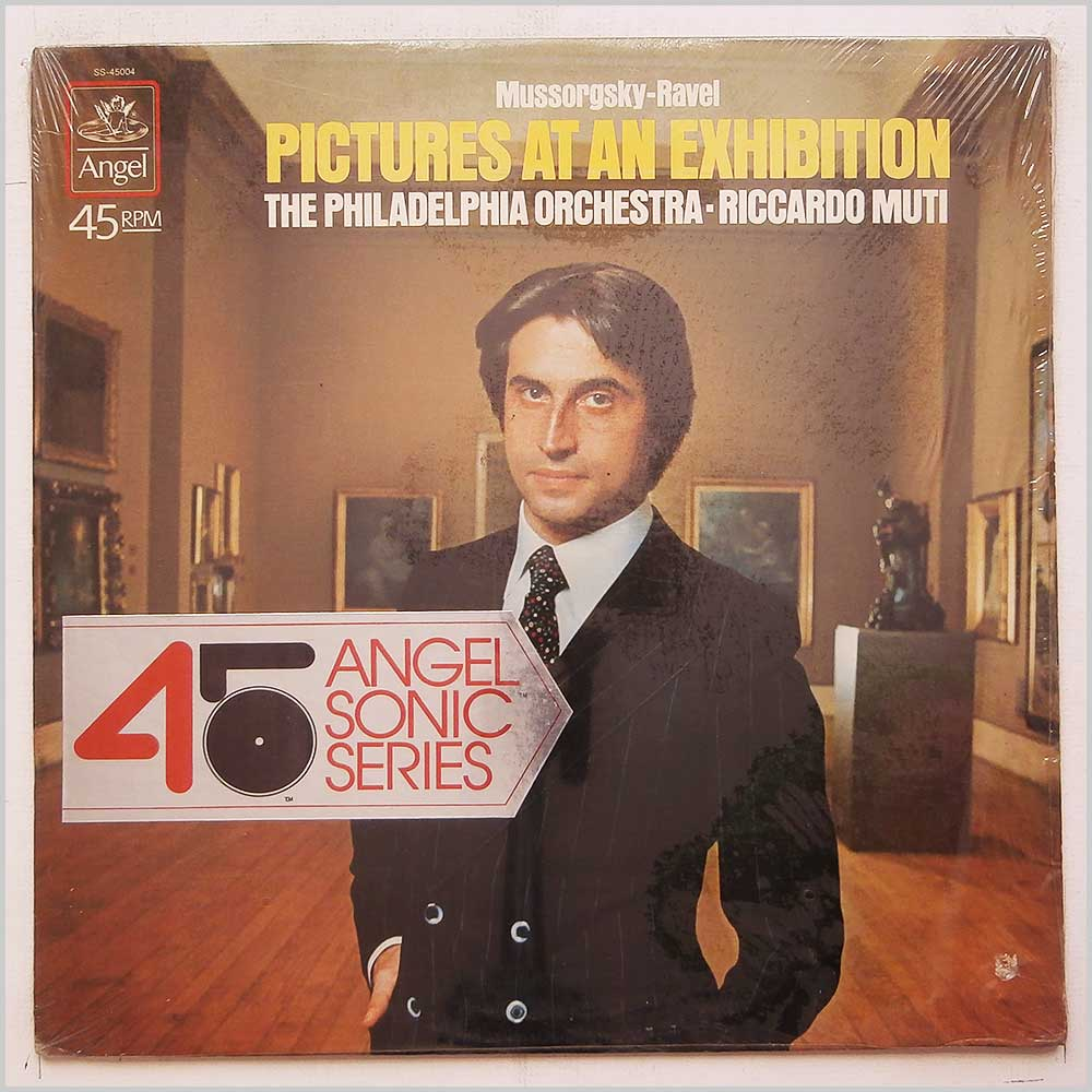 Riccardo Muti, The Philadelphia Orchestra - Mussorgsky-Ravel: Pictures At An Exhibition (SS-45004)