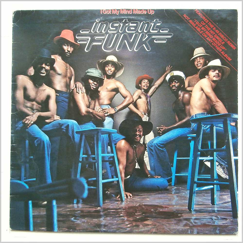Instant Funk - I Got My Mind Made Up (SSLP 1511)