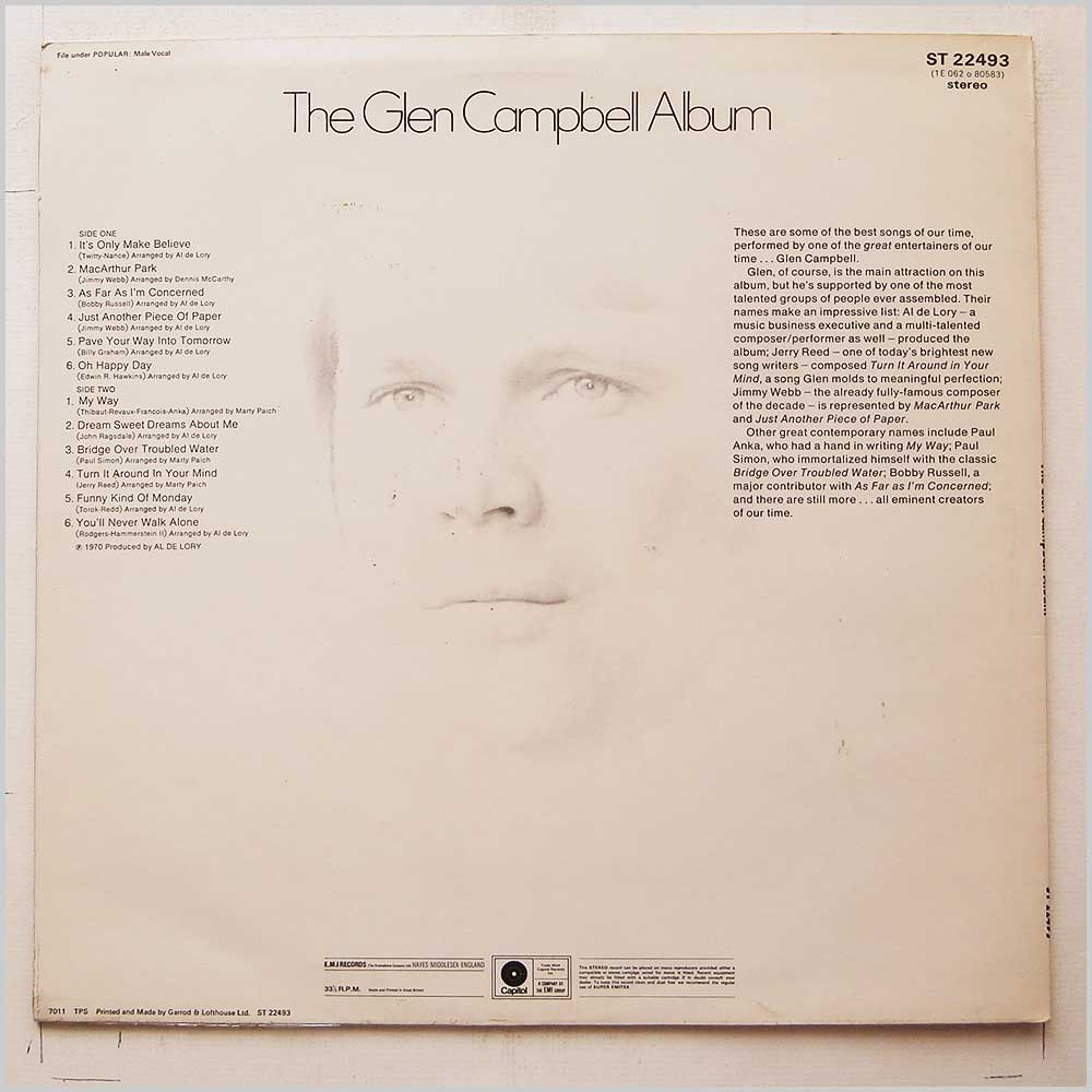 Glen Campbell - The Glen Campbell Album (ST 22493)
