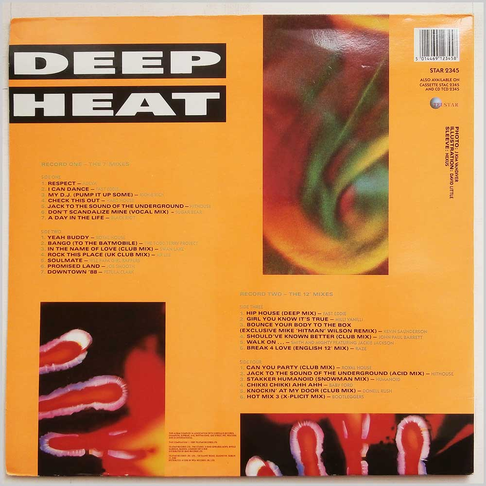Various - Deep Heat Hottest House Hits (STAR 2345)
