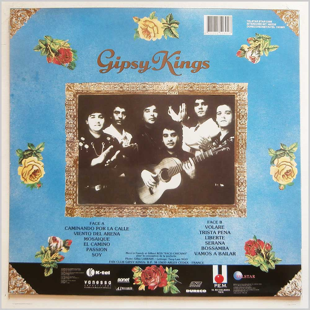 Gypsy Kings - Mosaique (STAR 2398)
