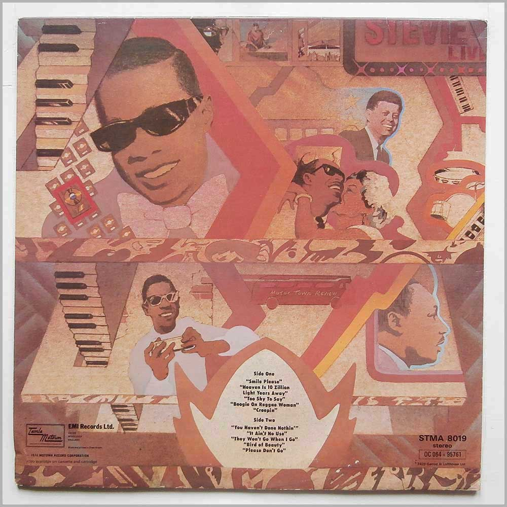 Stevie Wonder - Fulfillingness' First Finale (STMA 8019)