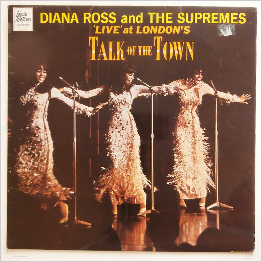 Diana Ross and The Supremes - Live At London's Talk Of The Town (STML 11070)