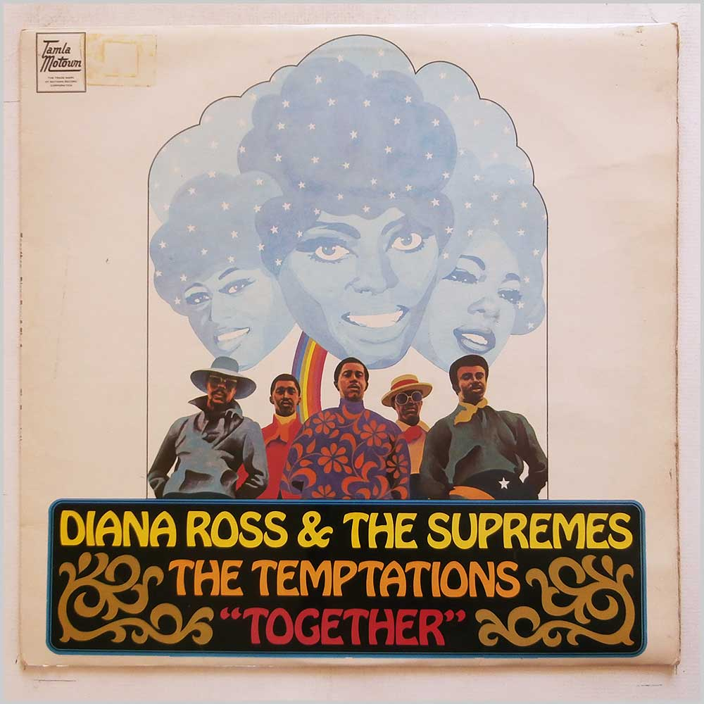 Diana Ross and The Supremes, The Temptations - Together (STML 11122)