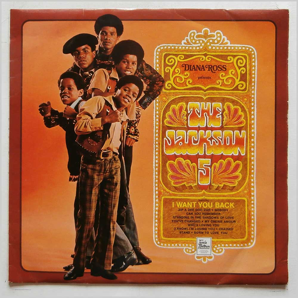 The Jackson 5 - Diana Ross Presents The Jackson 5 (STML 11142)