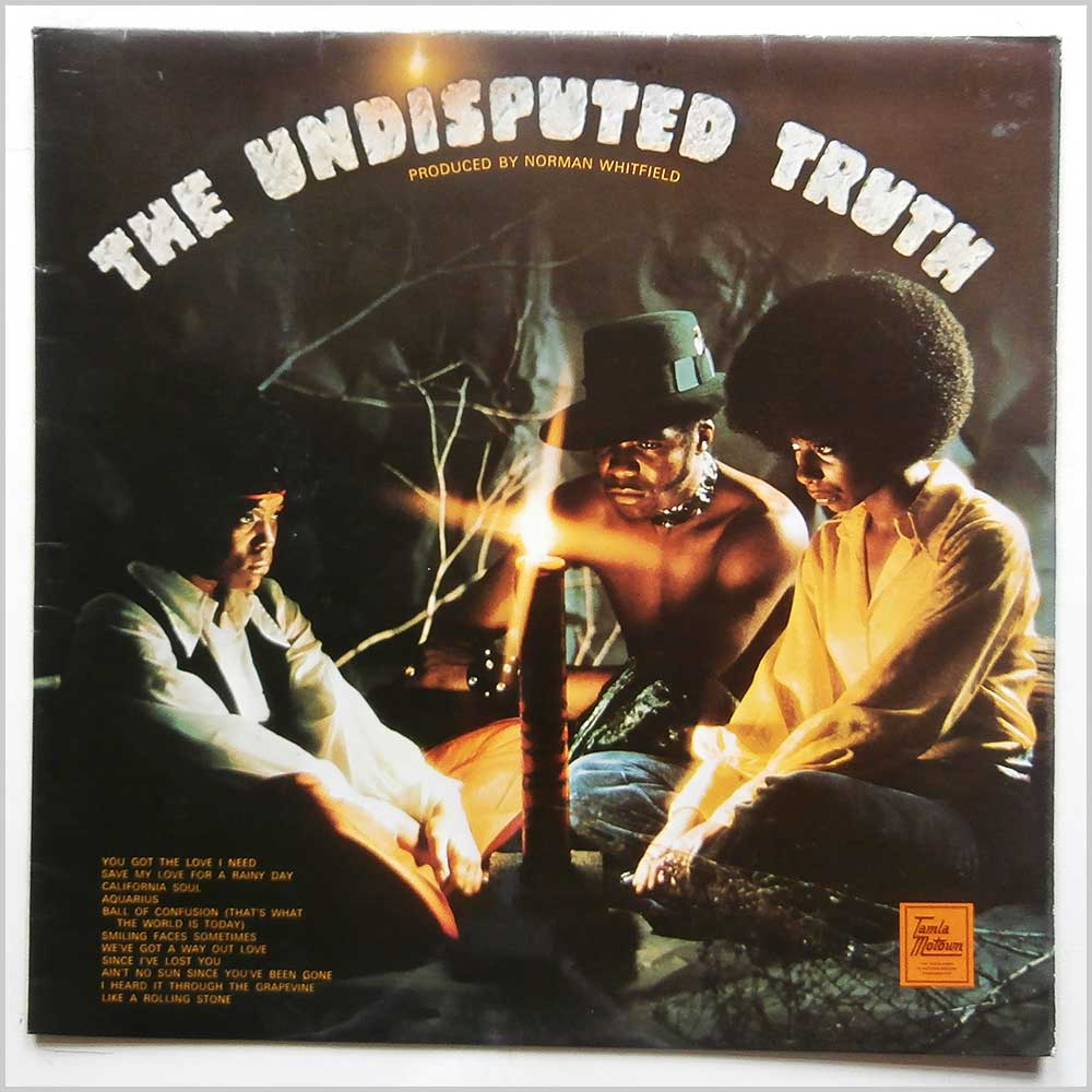 The Undisputed Truth - The Undisputed Truth (STML 11197)