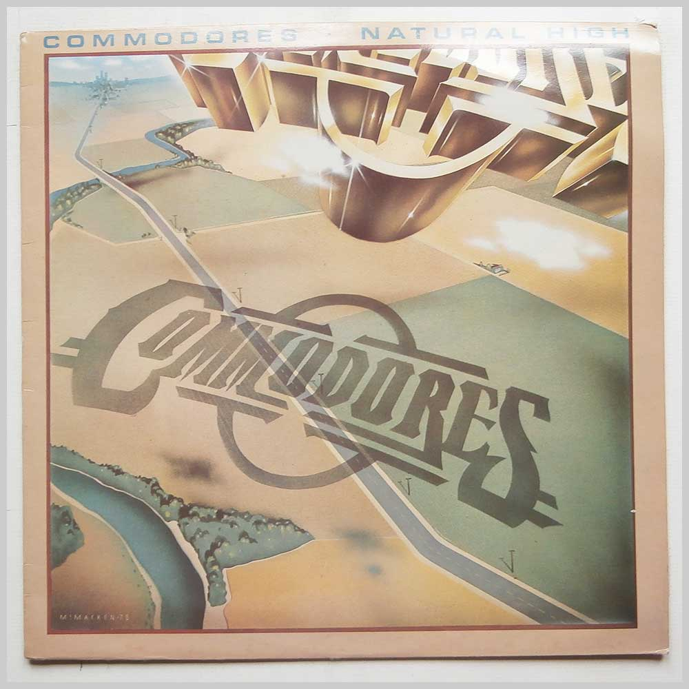 Commodores - Natural High (STML 12087)