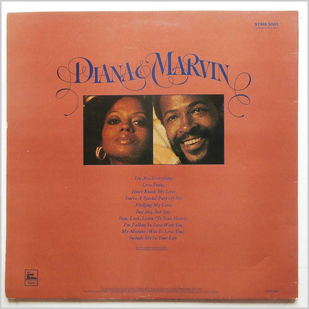 Diana Ross, Marvin Gaye - Diana and Marvin (STMS 5001)