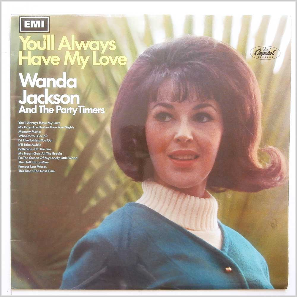 Wanda Jackson and The Party Timers - You'll Always Have My Love (T 2812)
