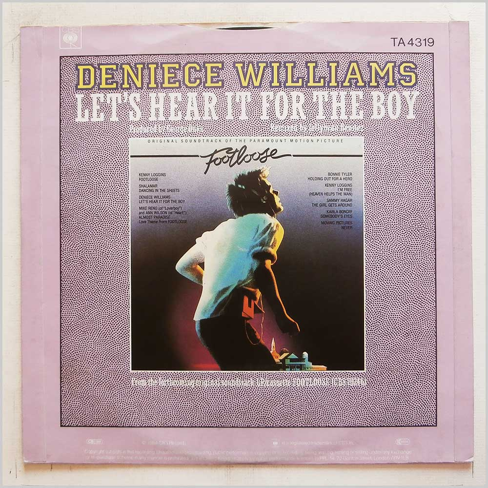 Deniece Williams - Let's Hear It For The Boy (TA 4319)