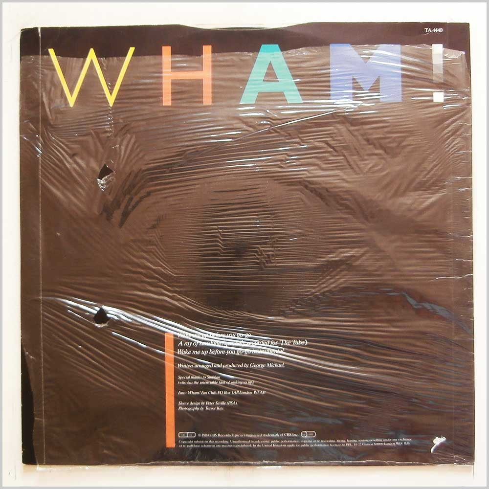 Wham! - Wake Me Up Before You Go-Go (TA 4440)