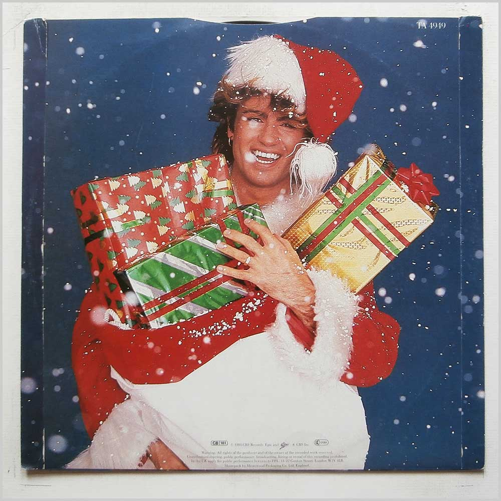 Wham! - Last Christmas (Pudding Mix) / Everything She Wants (TA 4949)