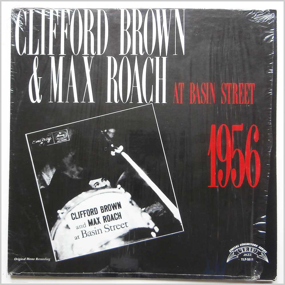 clifford brown, max roach clifford brown and max roach at basin street