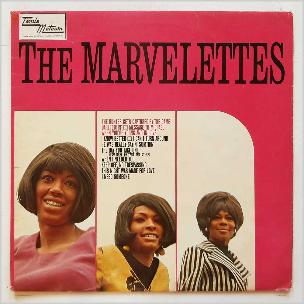 The Marvelettes - The Marvelettes (TML 11052)