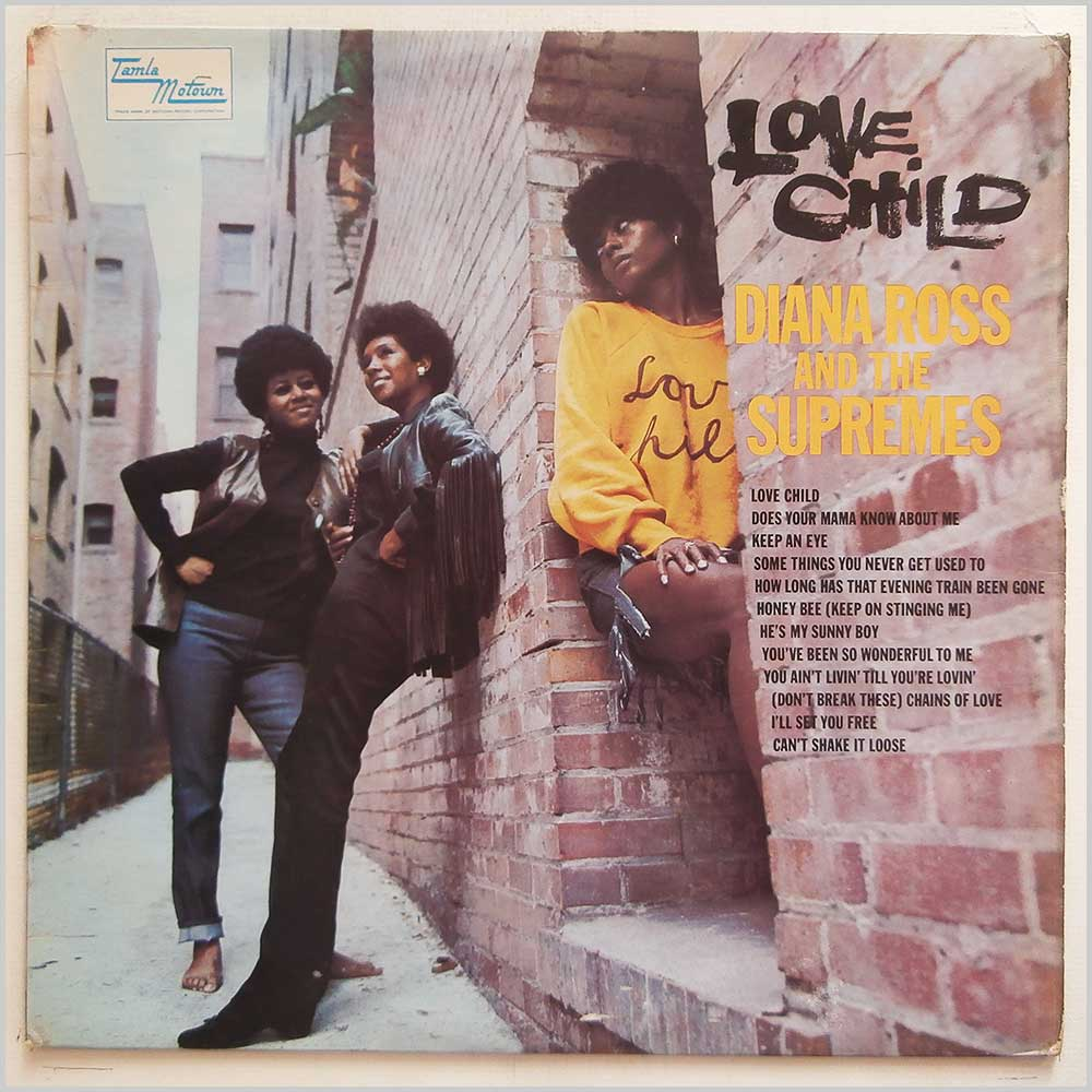 Diana Ross and The Supremes - Love Child (TML 11095)