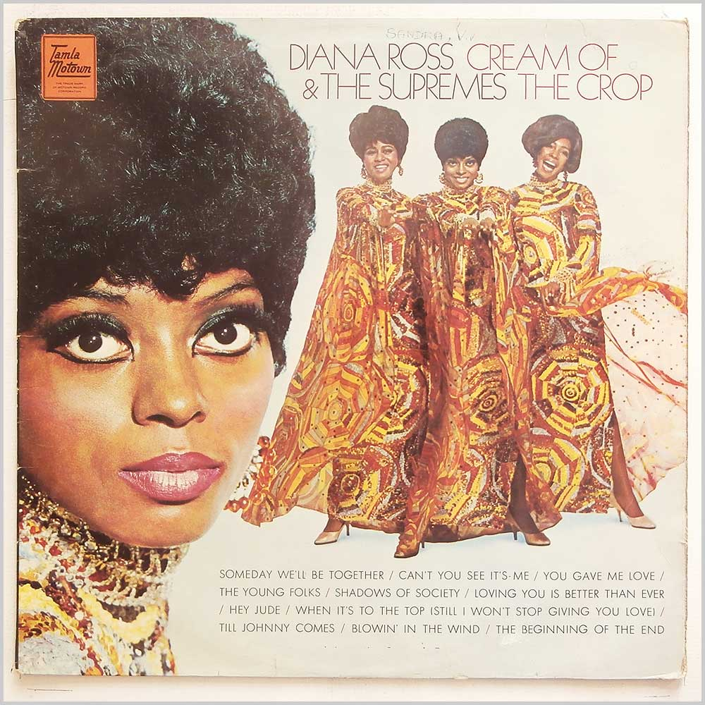 Diana Ross and The Supremes - Cream Of The Crop (TML 11137)