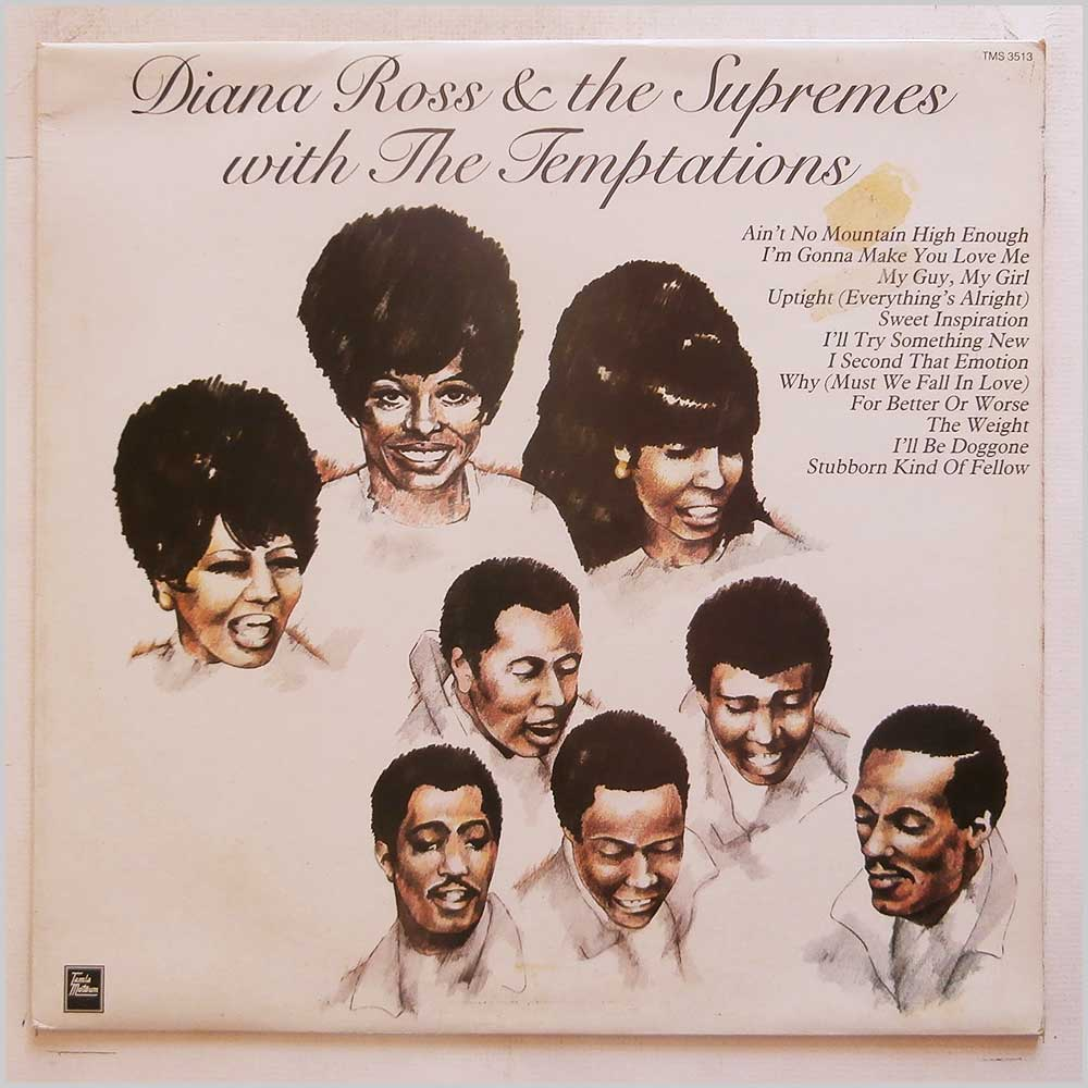 Diana Ross and The Supremes, The Temptations - Diana Ross and The Supremes With The Temptations (TMS 3513)
