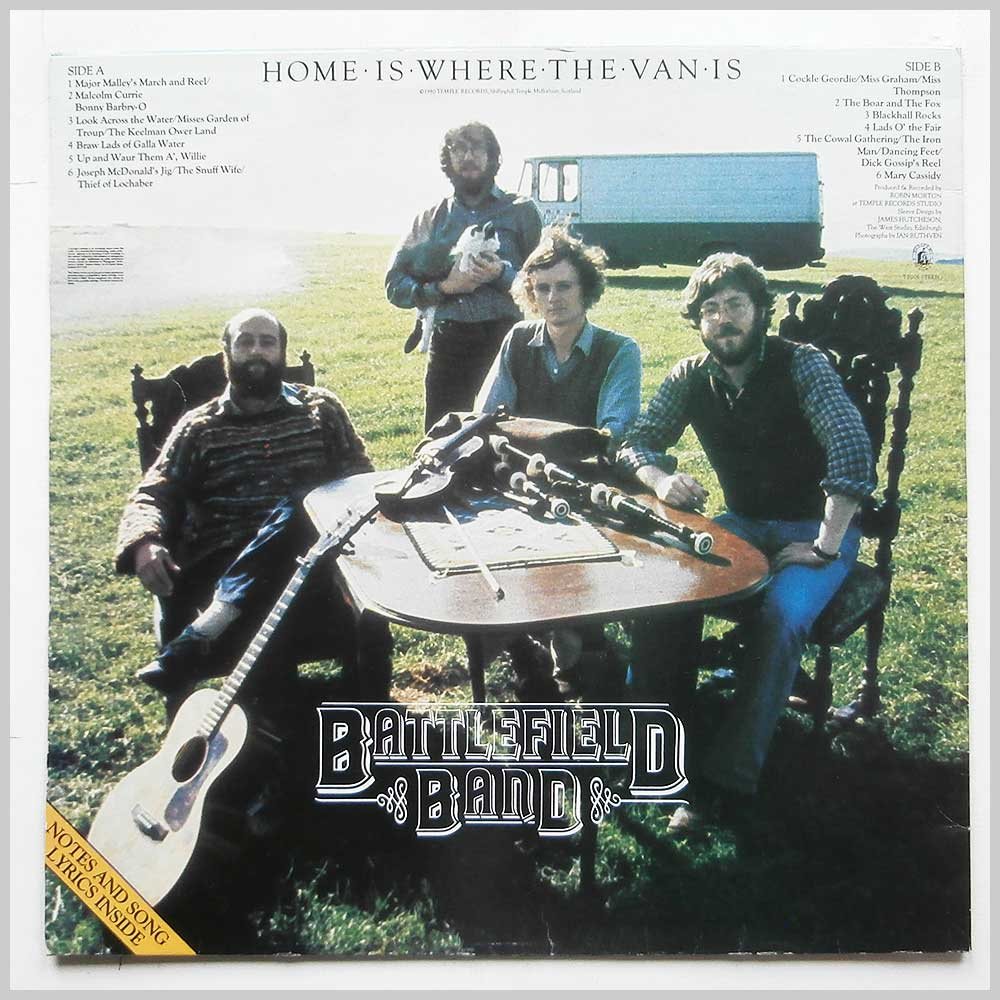 Battlefield Band - Home Is Where The Van Is (TP 005)