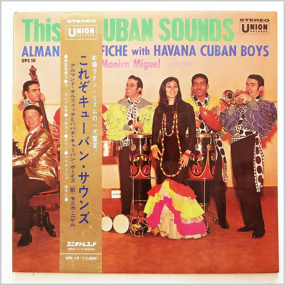 Armando Orefiche and His Havana Cuban Boys - This Is Cuban Sounds (UPS-10)