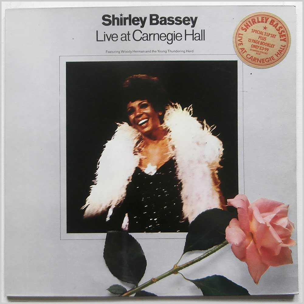 Shirley Bassey - Live At Carnegie Hall (USD 301/2)