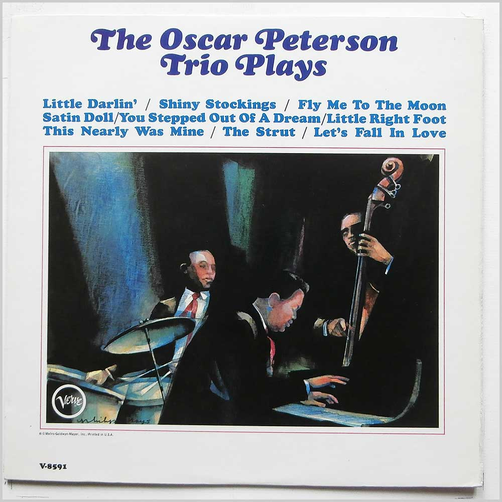 oscar peterson trio the oscar peterson trio plays