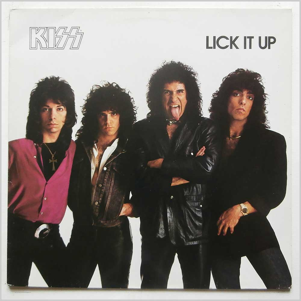 Kiss - Lick It Up (VERL 9)