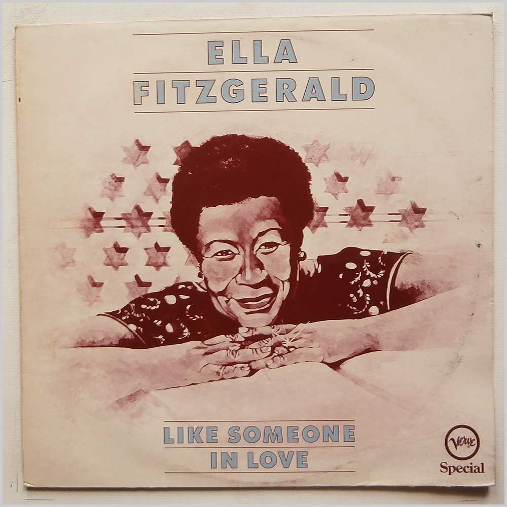 Ella Fitzgerald - Like Someone in Love (VERVE SPECIAL 2352 097)