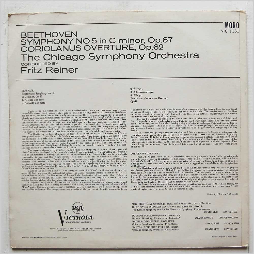 Classical LP Classical Music Record LP for sale
