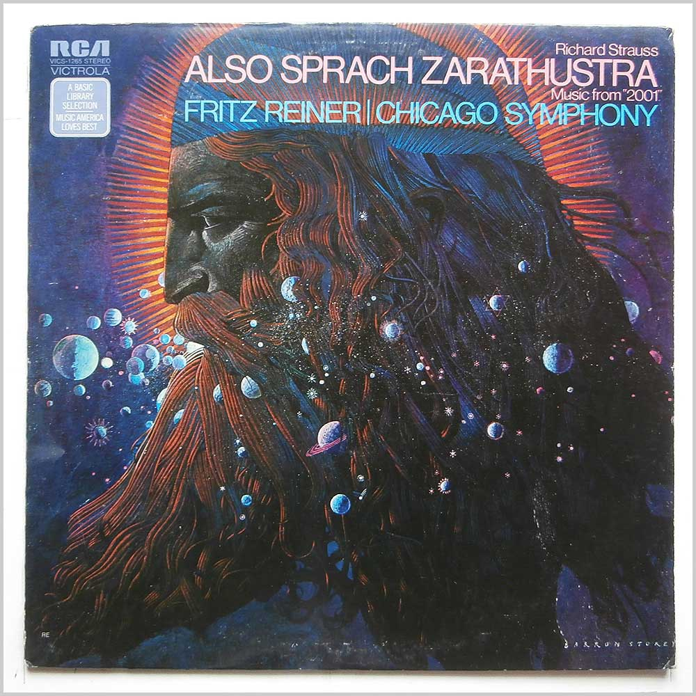 Fritz Reiner, Chicago Symphony - Richard Strauss: Also Sprach Zarathustra (VICS-1285)