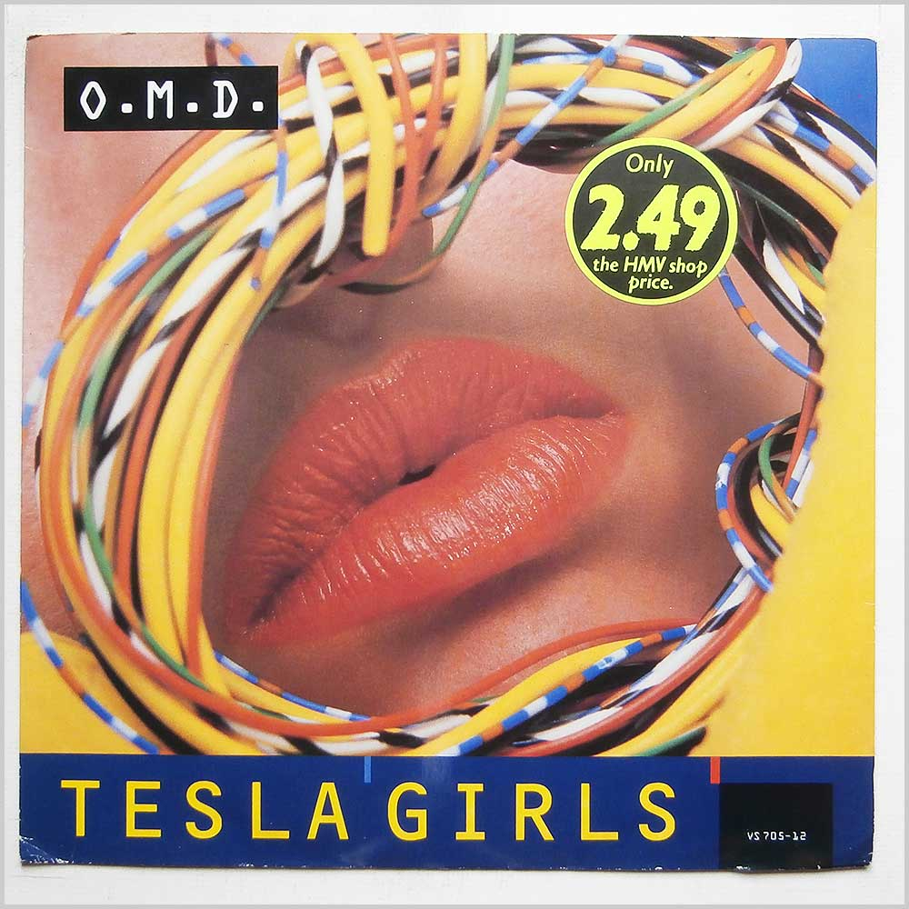 O.M.D. - Tesla Girls (VS 705-12)