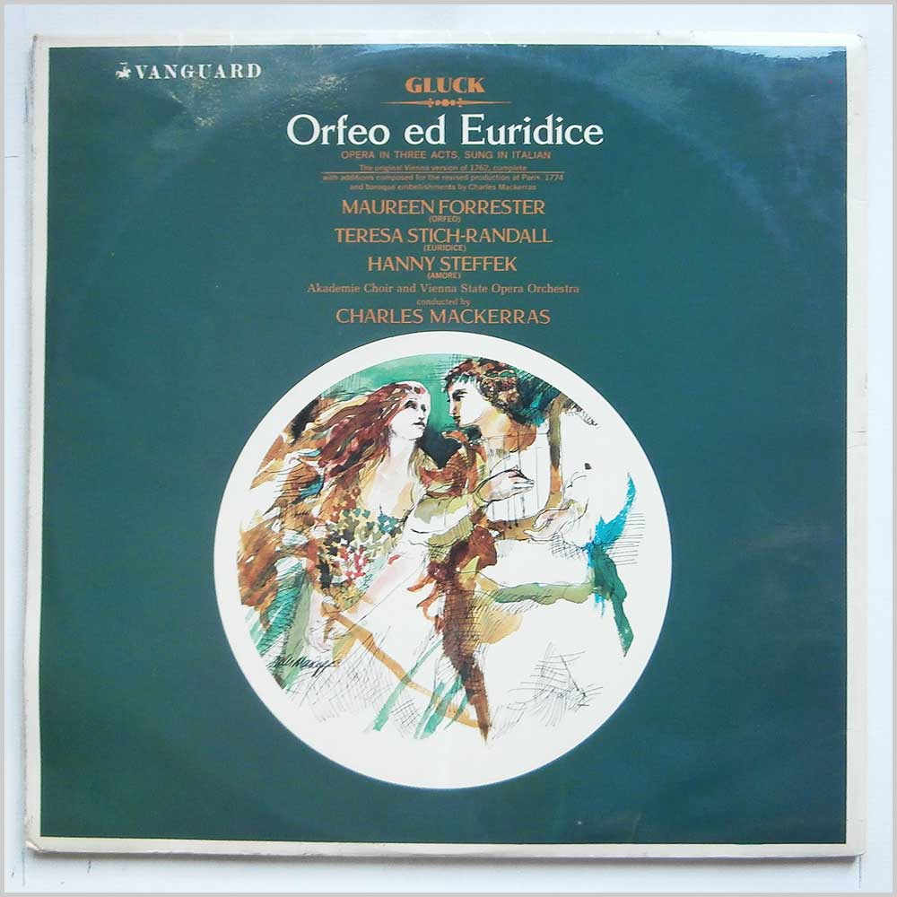 Charles MacKerras, Akademie Choir And Vienna State Orchestra Orchestra - Gluck: Orfeo ed Euridice (VSL 11004/5)
