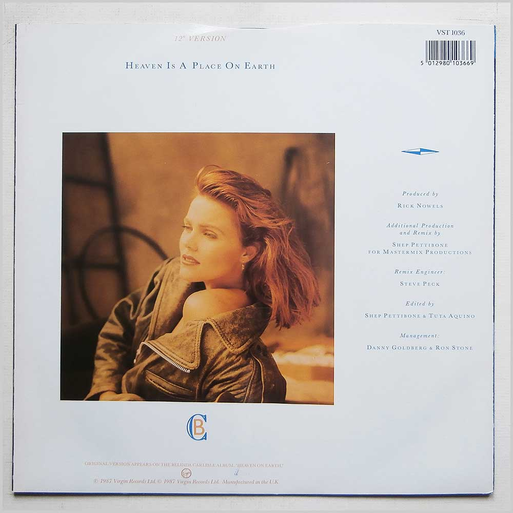 Belinda Carlisle - Heaven Is A Place On Earth (VST 1036)
