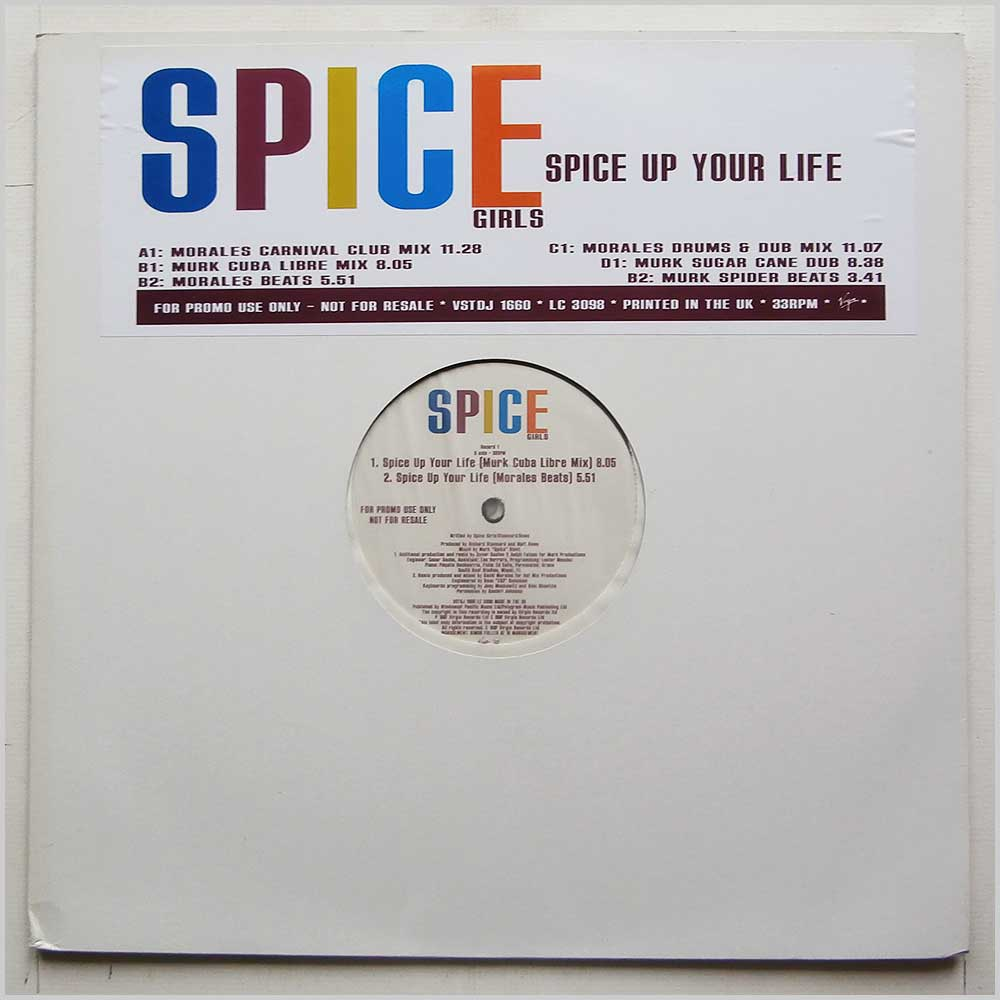 Spice Girls - Spice Up Your Life (VST 1660)