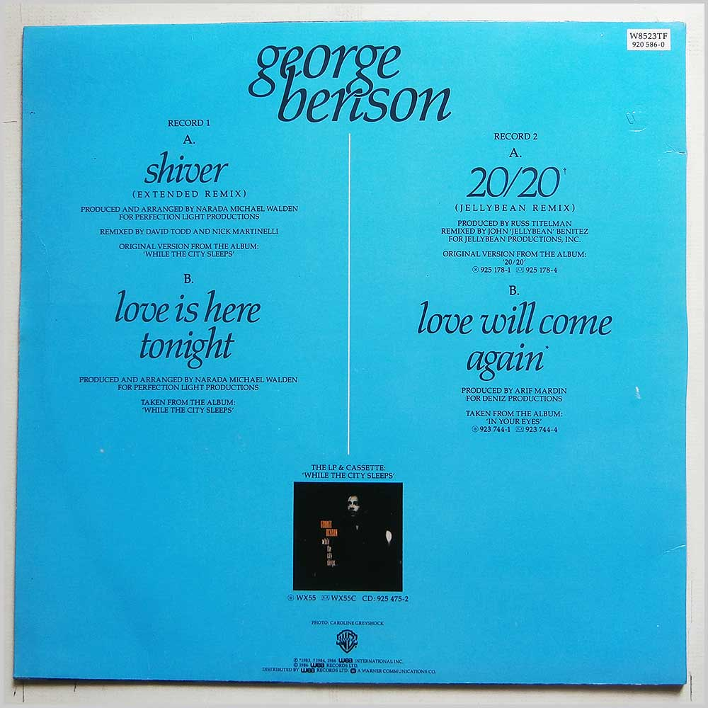 George Benson - Shiver (Extended Remix) (W8523TF)