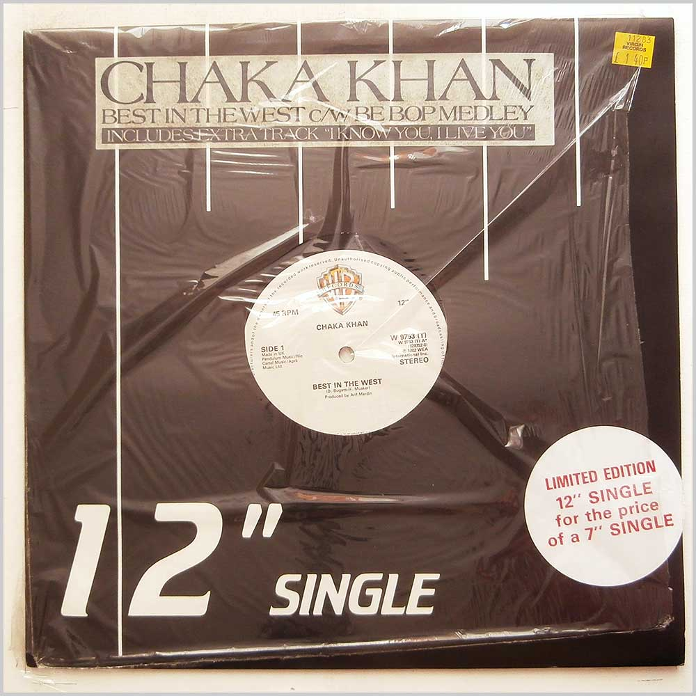 Chaka Khan - Best In The West (W 9753 (T))