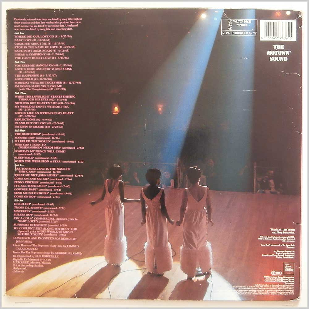 Diana Ross and The Supremes - 25th Anniversary (WL72436(3))